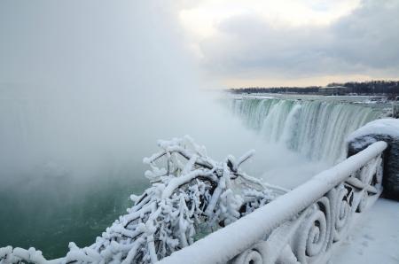 Niagra Falls Heavy Frost 2013