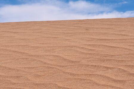 sandhills: Sand dune located in Death Valley National Park California
