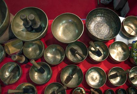 Tibetaanse klokken Stockfoto