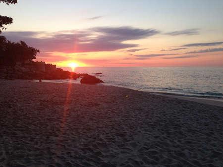 リラックスしたビーチ