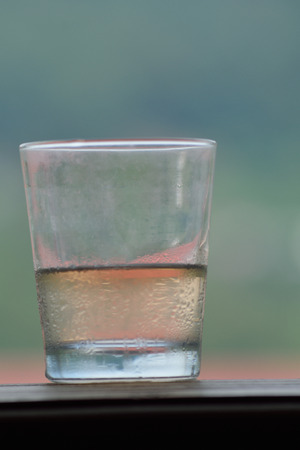 compote: glass compote