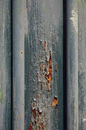 puertas de hierro: Puertas de hierro de fondo con óxido rojo