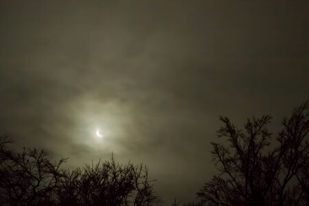 solar eclipse: The solar eclipse of March 20, 2015. Picture from Sweden.