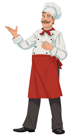 chef s hat: Chef - Illustration