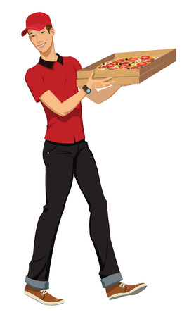 extra money: pizza delivery