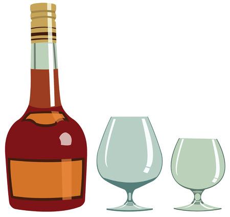 intoxicate: Cognac Illustration