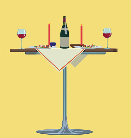 romantic: romantic dinner