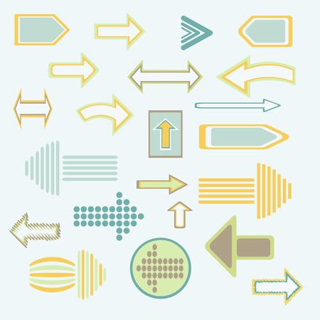 alternatively: Arrows - Illustrazione