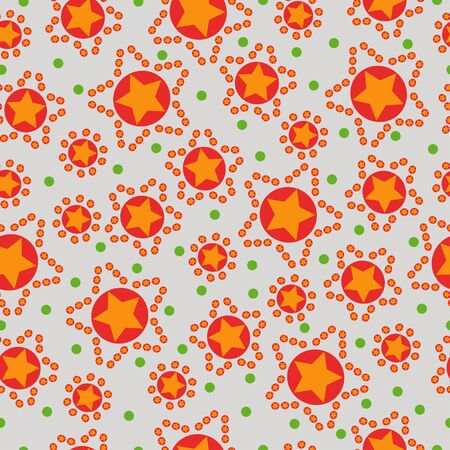 intricacy: seamless pattern from stars