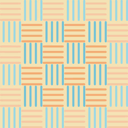rug weaving: abstract pattern weaving