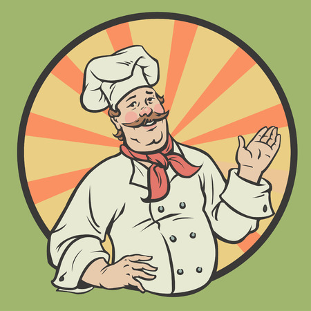 stately: Chef in a retro style