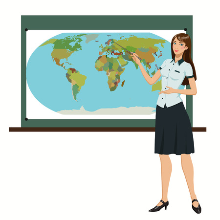geography: teacher of Geography