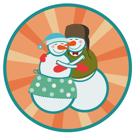ember: love snowmen Illustration
