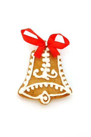 gingerbread christmas bell photo