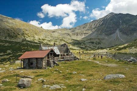 open air: Bulgarian open air museum near Mousala mountain