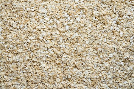 pap: Texture with dry oat flakes