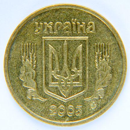 recoger: moneda. hryvnia (Ucrania).