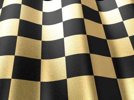 Gold chess board background. Ready to use in your designs. photo