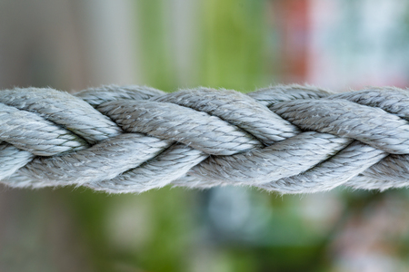 macro shot of ropes close up for web background
