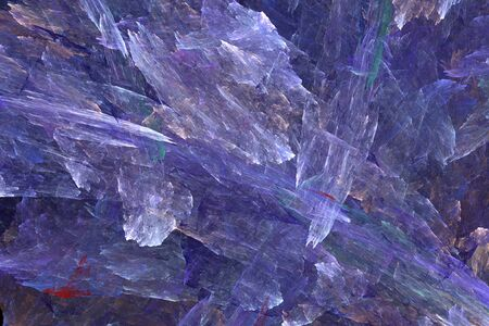 misty: Abstraction fractal ice misty space illustration of different colors Stock Photo