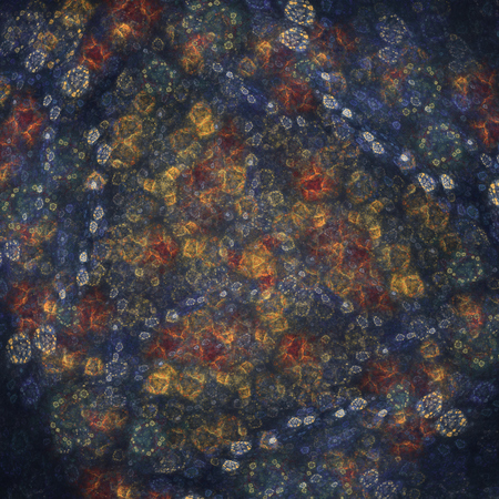 haze: Abstract glowing haze made of fractal textures