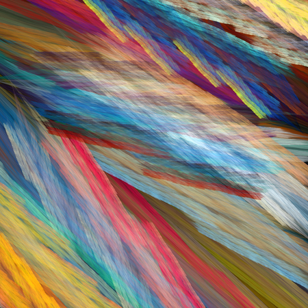 Art abstract colorful grunge textured fractal-painted canvas background Standard-Bild