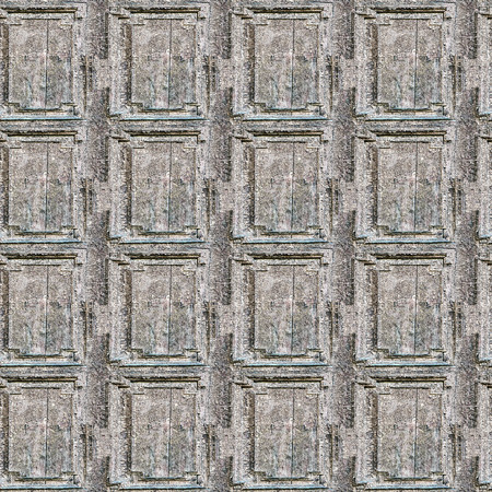 of irradiated: Cracking and peeling paint on a wall. Wood seamless texture.
