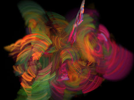 Colorful glowing pattern, abstract art for background Standard-Bild - 150787406