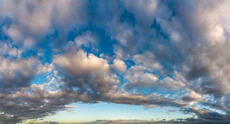 Fantastic clouds at sunrise Standard-Bild - 164721824