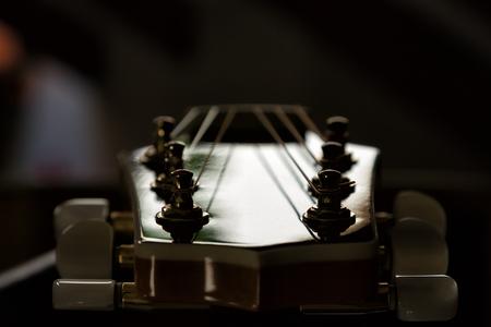 fingerboard: The guitar fretboard