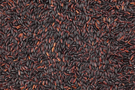 full frames: Nerone rice background. (Organic Black Nerone Rice)