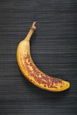 overripe: Overripe banana.