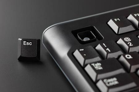 escape key: escape key