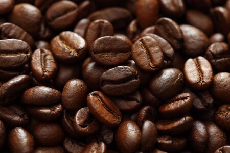 xxxl: Coffee Beans close-up. XXXL. Stock Photo