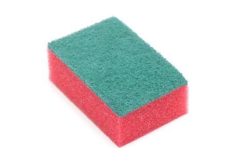 Cleaning sponge close-up