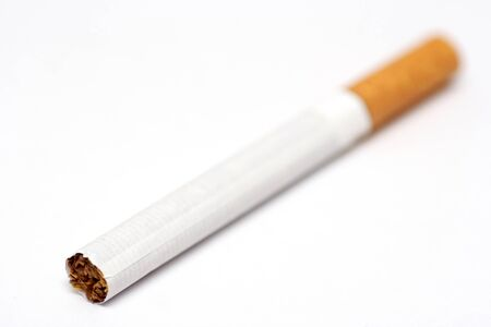 unhygienic: Cigarette close-up