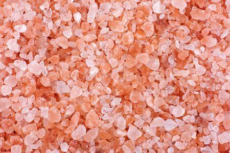 himalayan salt: Pink himalayan salt background. Close up.
