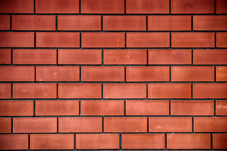 hdr: Red brick wall background. HDR image. Stock Photo