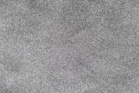 Gray carpet texture. Close up.
