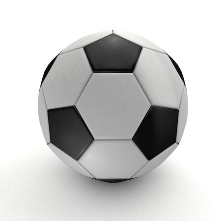 white background: Football with white background