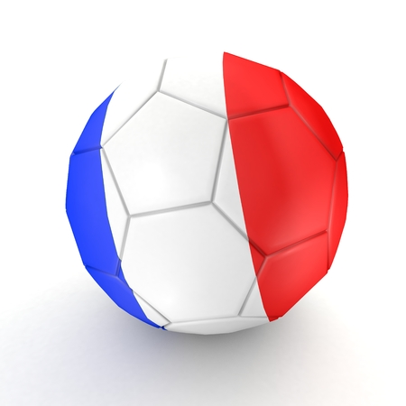 penalty flag: Football - flag of France -2