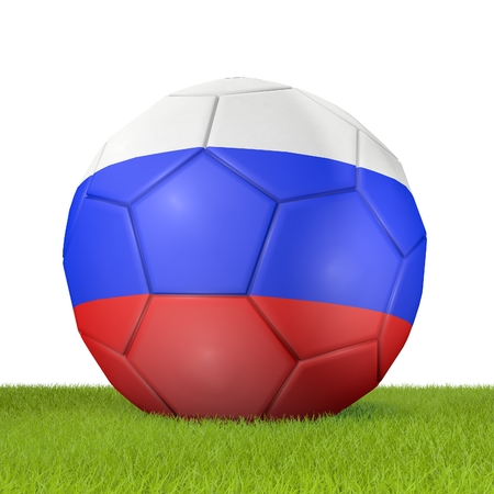 penalty flag: Football - flag of Russia -2