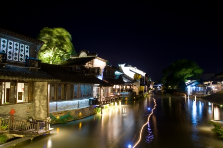 nightview of Wuzhen photo