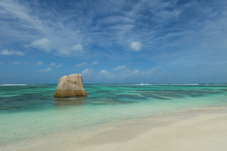 creole: Anse Source dArgent - Seychelles island