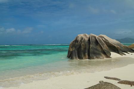 la digue: Anse Source dArgent - Seychelles island