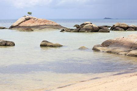 exotism: Beautiful beach in thailand. Ko phi phi island.