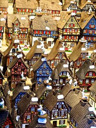 alsatian: Alsatian houses Stock Photo