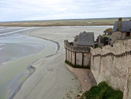 mont saint michel: Bay of Mont Saint Michel