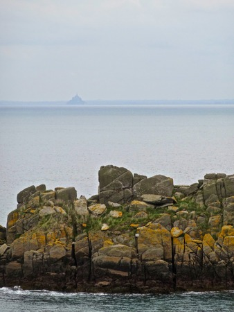 st michel: The tip of the Groin and Mont St Michel