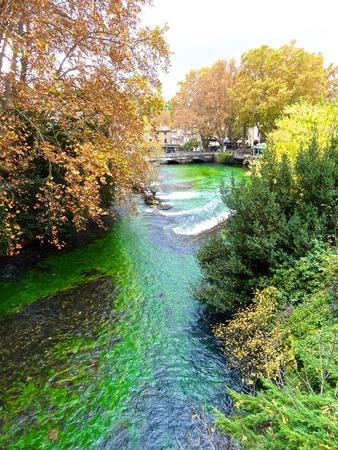 vaucluse: La Fontaine de Vaucluse Sorgue